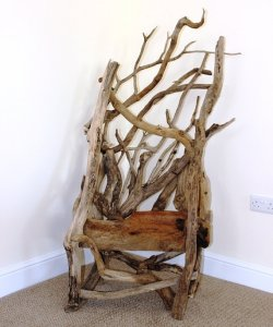 Driftwood chair by JKDriftwood. https://www.etsy.com/listing/176666819